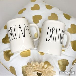 💖OFFERS??💖•Rae Dunn - Magenta• Dream+Drink Mug